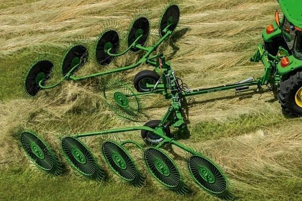 Hay and Forage Raking Equipment Photo