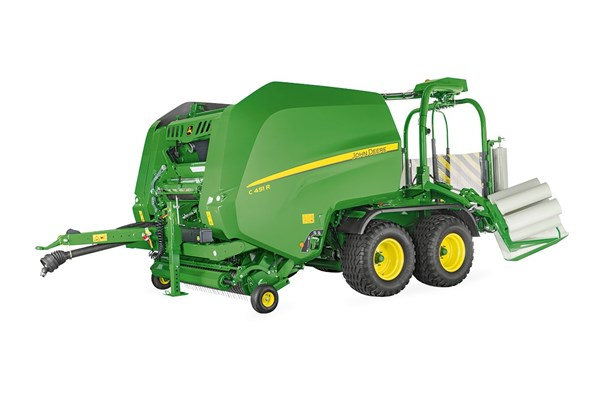 C451R Variable Chamber Wrapping Baler Photo